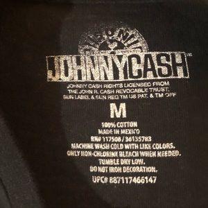 "Shirts - Johnny Cash ""Man in Black"" Vintage Rock Band Shirt"
